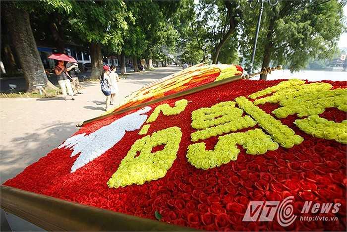 Ngay trong những ngày này, nhiều tuyến phố Thủ đô đã trang hoàng đón chào ngày lễ trọng thể của dân tộc.