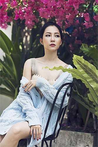 Linh Nga được khán giả yêu mến chính bởi vẻ đẹp tự nhiên không 'dao kéo'.