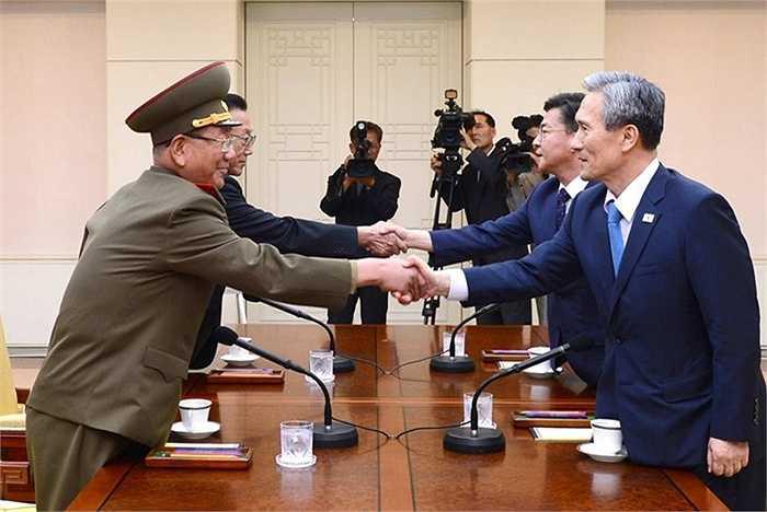 Cuộc hội đàm Hàn Quốc- Triều Tiên được tổ chức ở làng Panmunjom