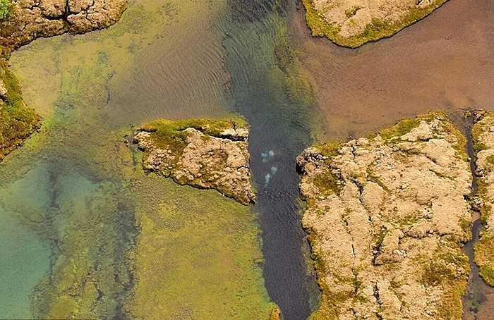 Mới đây những hình ảnh vết nứt này chụp từ trên cao đã tiết lộ thêm góc nhìn mới