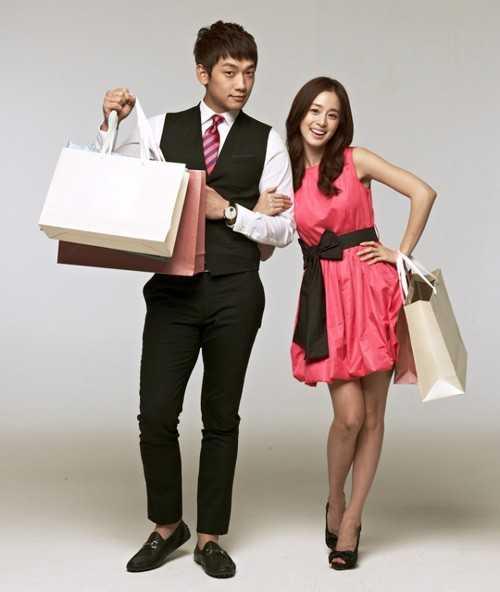 Kim Tae Hee và Bi Rain