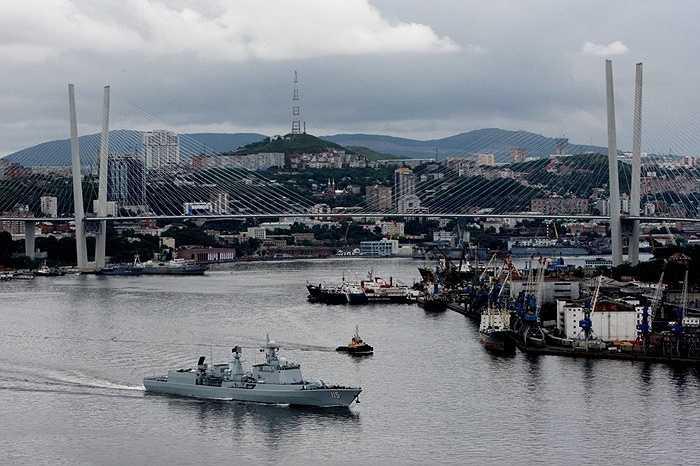 Các tàu hải quân Nga - Trung sẽ tham gia vào luyện tập chống tàu ngầm, tàu nổi