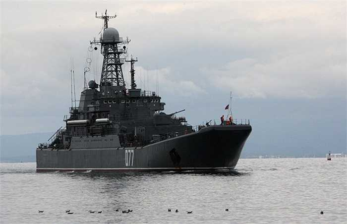 Tàu đổ bộ Peresvet của Hạm đội Thái Bình Dương, Hải quân Nga