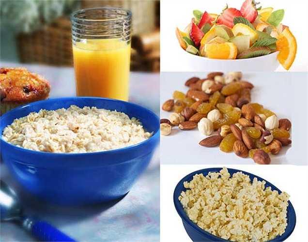 Ăn 6 bữa ăn một ngày: Nên ăn 5-6 bữa một với những thực phẩm như protein từ thịt nạc, chất béo lành mạnh, tinh bột, rau. Ăn nhiều protein giúp làm dịu bớt lượng đường trong máu. Protein làm cho bạn cảm thấy no lâu và giúp tạo cơ bắp.