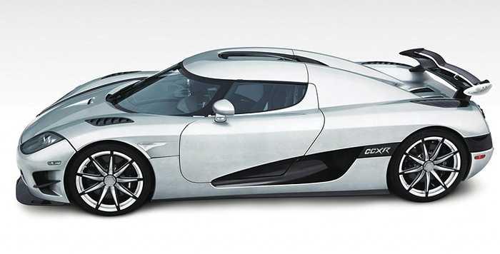 Chiếc Koenigsegg CCXR Trevita đời 2010 được Mayweather mua lại với giá 4,8 triệu USD.