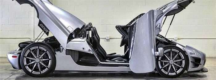 Trevita thuộc phiên bản cực hiếm của hãng sản xuất siêu xe Thụy Điển, phát triển dựa trên mẫu xe Koenigsegg CCXR.