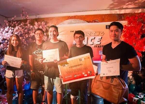 Chiến thắng đã thuộc về đội Xanh lá cây của 4 bạn Hương Linh, Minh Chính, Quốc Hùng, Gia Bảo