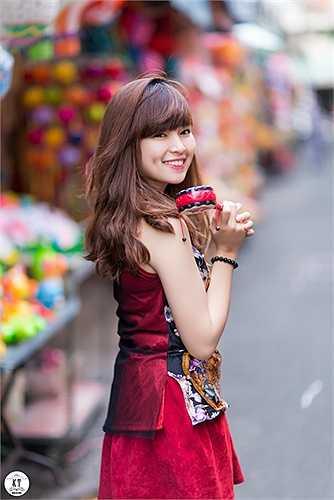 Khánh Vân là  sinh viên ngành Thiết kế thời trang, trường Quốc tế ADS International Design & Art Center.