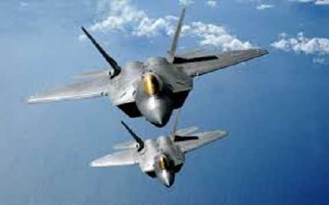 Chiến đấu cơ F-22 Raptor đầy uy lực của Không quân Mỹ