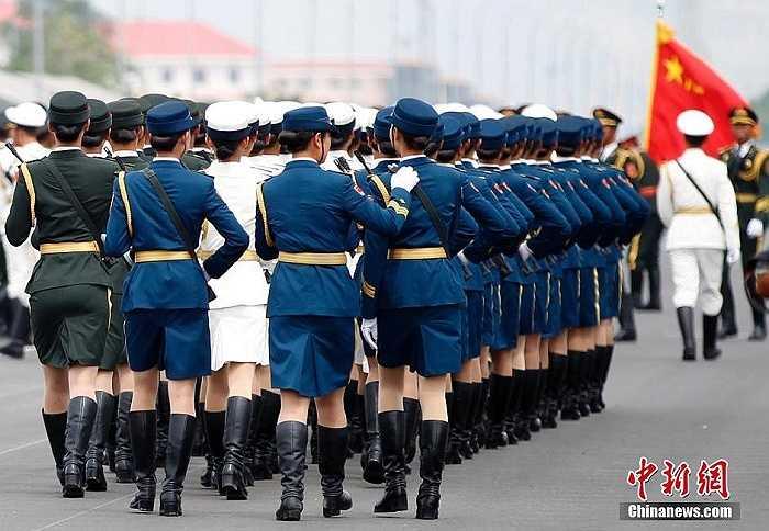 Hơn 30 nước đã nhận lời mời cử đại diện đến tham dự buổi lễ diễu binh hoàng tráng chưa từng có của Trung Quốc