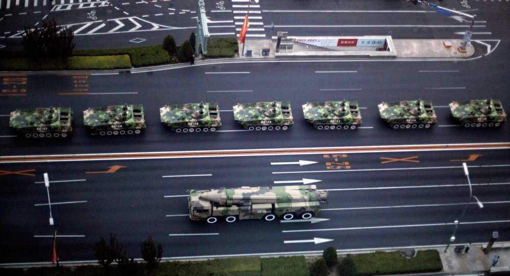 Tên lửa Trung Quốc chuẩn bị cho lễ duyệt binh