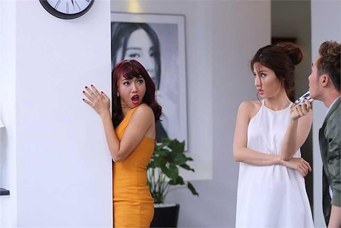 Trong ngày quay đầu tiên của phim, bối cảnh được dựng trong nhà của nhân vật Diễm My thủ vai với nhiều tình huống thú vị giữa 3 nhân vật, cũng là 3 người bạn rất thân của nhau gồm Diễm My, Diệu Nhi và Huỳnh Lập.