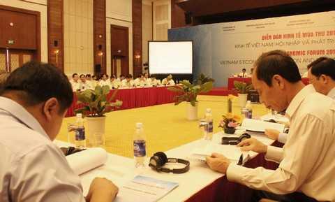 Hầu hết các diễn giả đều đồng thuận rằng, những thành tựu mà Việt Nam đạt được sau một thời gian hội nhập kinh tế quốc tế, đặc biệt sau gia nhập Tổ chức Thương mại Thế giới (WTO), là có nhưng chưa tương xứng với cơ hội.