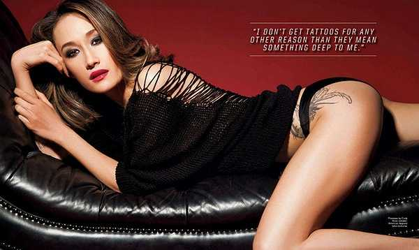 Vẻ đẹp pha trộn Á Âu có thể nói là 'đặc trưng' giúp Maggie Q trở nên khác biệt trong dàn mỹ nhân Hollywood tóc vàng óng