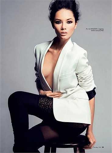 Người mẫu Bảo Hòa xuất hiện trong bộ phim khoa học viễn tưởng mang tên Elysium (Kỷ nguyên) năm 2013 cùng tài tử Matt Damon