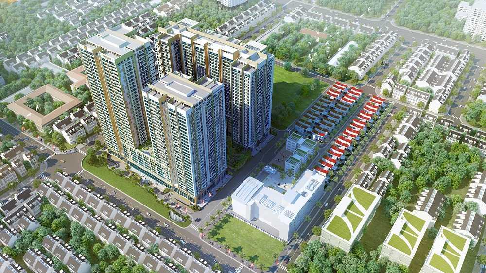 Imperia Garden sở hữu vị trí đắc địa tại trung tâm quận Thanh Xuân