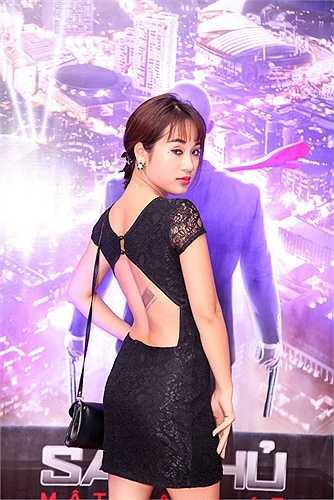 Góp mặt trong buổi công chiếu bộ phim 'Sát thủ: Mật danh 47', dàn hot girl: Diễm Hằng 'Nhật ký Vàng Anh', Kelly, Việt Nga cùng đọ sắc.