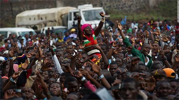 9.45% dân số CHDCND Congo ở độ tuổi dưới 15 và dự kiến dân số nước này sẽ tăng lên gấp đôi đến 2050