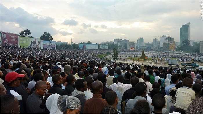 10.Hiện nay dân số Ethiopia vào khoảng 98,1 triệu người. Nhưng đến năm 2050 con số này có thể là 165 triệu