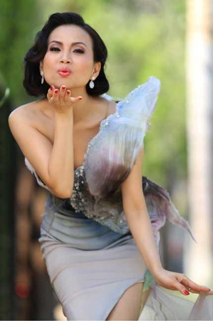 Hà Phương từng đóng một số phim nhưng chưa được nhiều khán giả trong nước biết đến.