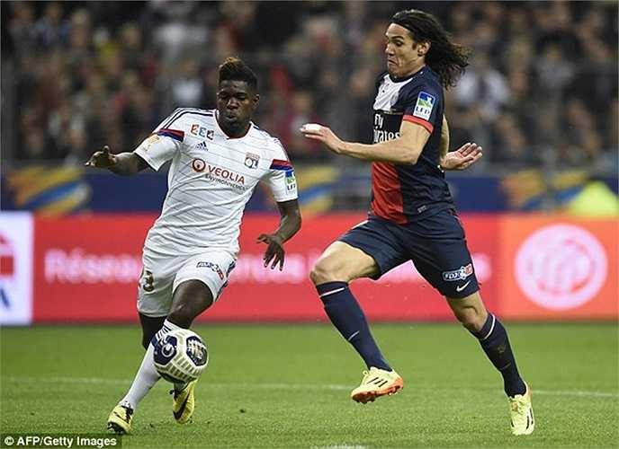 Mặc dù vậy, tiền đạo người Uruguay vẫn chỉ là cái bóng của Ibrahimovic tại thành Paris. Ngay cả khi có cơ hội được sắm vai chính như trận tứ kết trước Barca mùa vừa rồi, anh cũng không đáp ứng được kỳ vọng