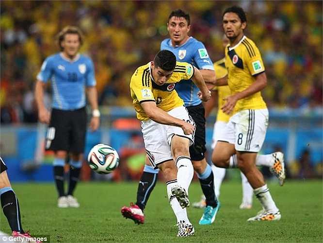 Tương tự Suarez là James Rodriguez. Anh đến Real Madrid với giá 63 triệu bảng và chơi khá tốt trong mùa đầu tiên