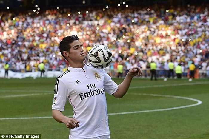 Tuy nhiên vẫn còn quá sớm để khẳng định liệu James có thành công ở Bernabeu hay không, nhất là khi Real Madrid thay HLV như thay áo
