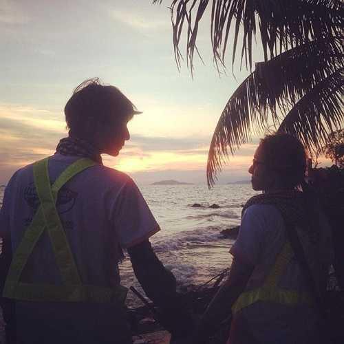 Sau hơn một năm bên nhau, Quang và Huyền lấy ngày đầu 'chạm môi' làm mốc thời gian kỷ niệm tình yêu.