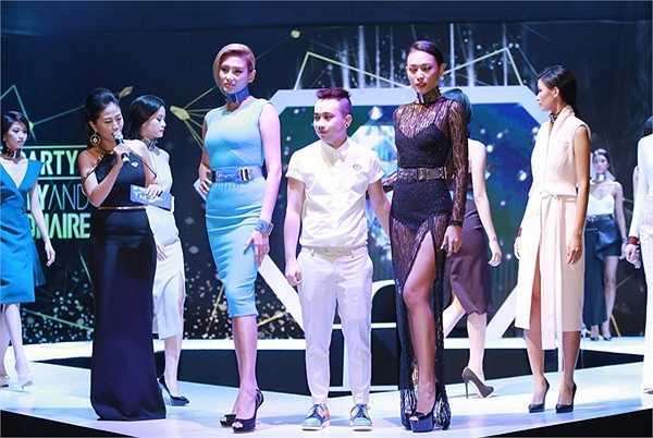 NTK Huy Trần đã có buổi biểu diễn giới thiệu bộ sưu tập mới của mình với dàn người mẫu vô cùng nổi bật.