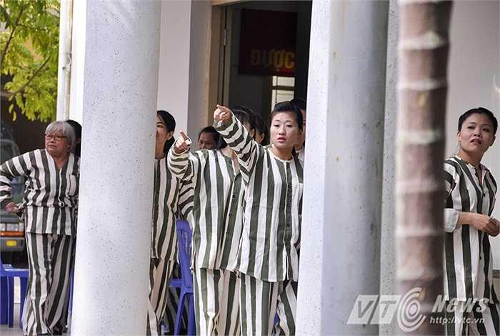 Tại Trại tạm gia số 1, có 168 phạm nhân được đặc xá, tha tù trước thời hạn trong đợt này.