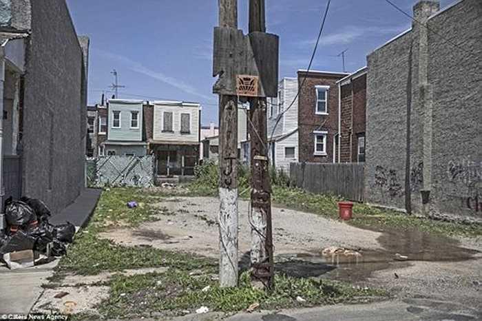 Hơn 40% người dân tại thành phố Camden được cho là sống dưới mức nghèo tại Mỹ.
