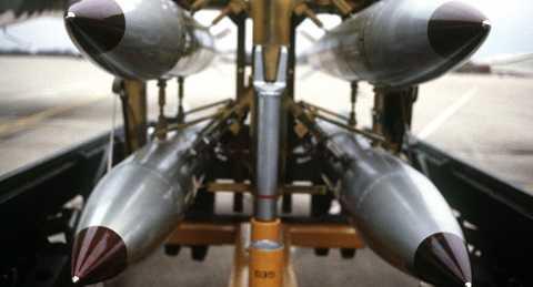 Hình ảnh bom hạt nhân B61