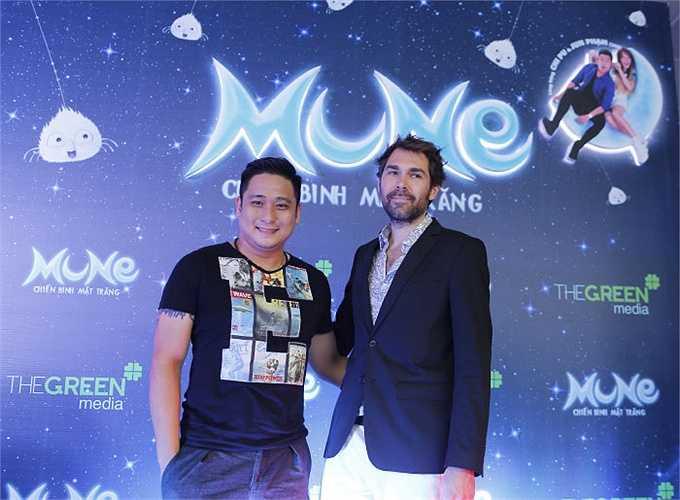 Một trong hai đạo diễn bộ phim Chiến binh mặt trăng là Benoit Philippon cũng đã có mặt để chia sẻ những niềm vui của mình về bộ phim.