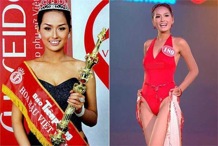 Nhan sắc Mai Phương Thúy khi mới đăng quang Hoa hậu Việt Nam 2006 chưa thật sự thuyết phục dư luận.