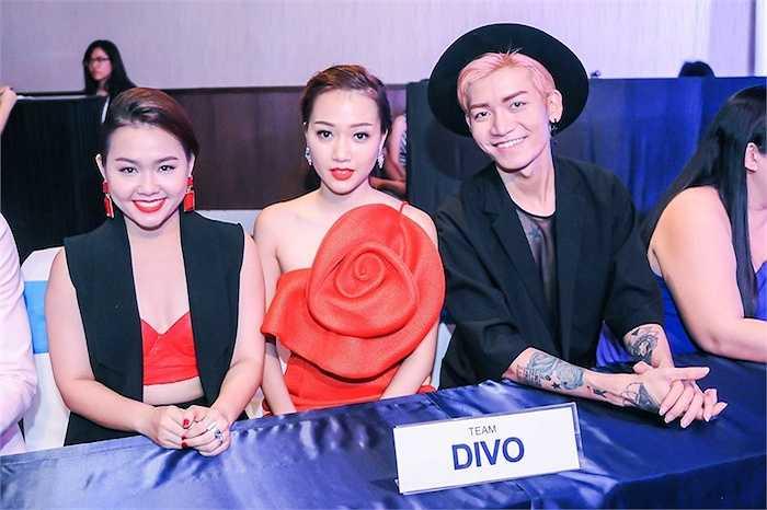 Đội Divo với sự tham gia của BB Trần.