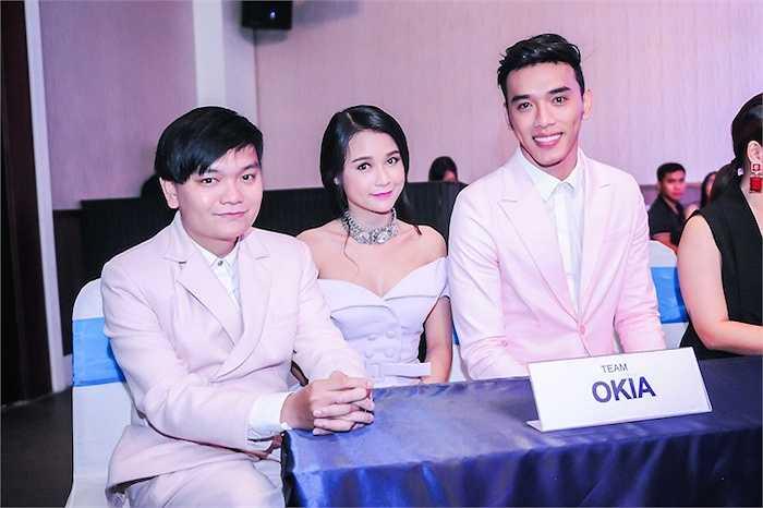 Đội Ô Kìa với Trịnh Tú Trung, Pé Sam, Thuận Nguyễn. (Trung Ngạn)
