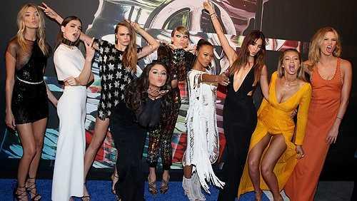 Dàn sao Bad Blood của Taylor Swift đổ bộ thảm đỏ MTV VMAs
