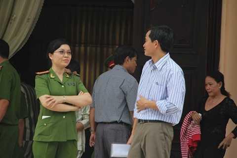 Trò chuyện với phó giám thị Z30D Trịnh Thị Quế