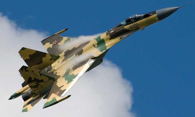 Chiến cơ thế hệ 4++ Su-35 của Nga