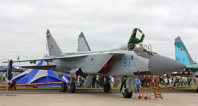 Chiến cơ MiG-31 của Nga