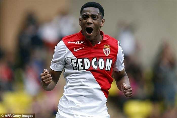 Trong 2 năm chơi cho đội 1 AS Monaco, Martial ra sân tổng cộng 64 lần và ghi được 13 bàn thắng