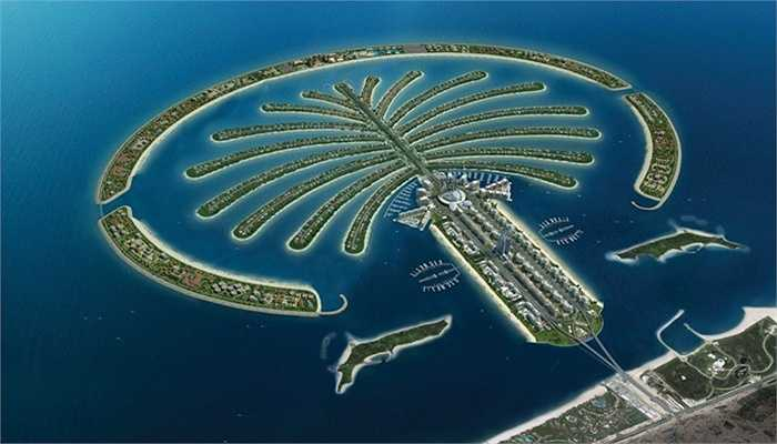 Đảo cây cọ. Đây là dự án đảo nhân tạo lớn nhất thế giới và gồm 3 đảo nhỏ là Palm Jumeriah, Palm Jebel Ali và Palm Deira. Sau khi hoàn thành, Palm Jumeriah trở thành nơi cư trú cho khoảng 60.000 người, góp phần giải quyết bài toán chỗ ở cho Dubai