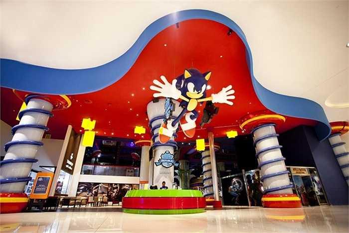 Khu vui chơi giải trí Sega Republic. Nơi đây vượt xa DisneyLand nổi tiếng của Mỹ về sự sang trọng cũng như số lượng các trò giải trí. Như vậy cũng đủ thấy được sự thú vị của Sega Republic