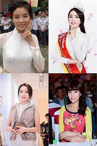 Bị chê nhiều hơn khen, nên càng ngày Hoa hậu 19 tuổi càng cố gắng chứng minh cho mọi người thấy sắc đẹp vốn có của mình