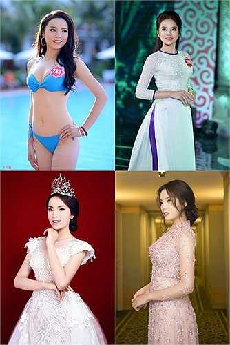 Những màn lột xác đã dần lấy lại thiện cảm về nhan sắc của tân Hoa hậu đến thời điểm này.