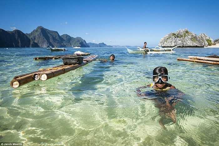 Người của bộ lạc Tagbanua sinh sống gắn liền với biển cả
