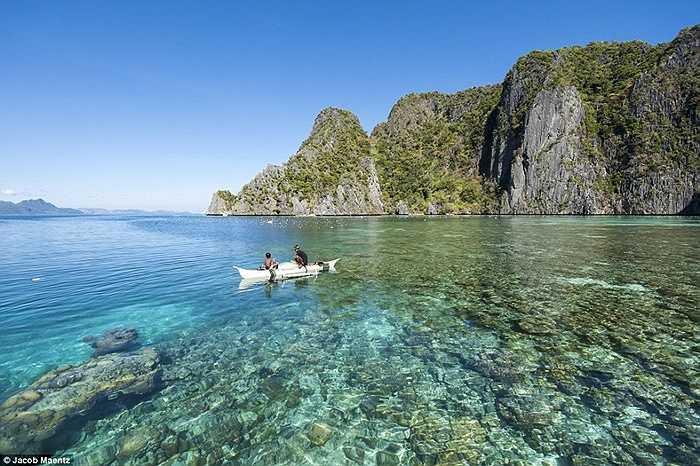 Vùng biển xinh đẹp nơi người Tagbanua sinh sống