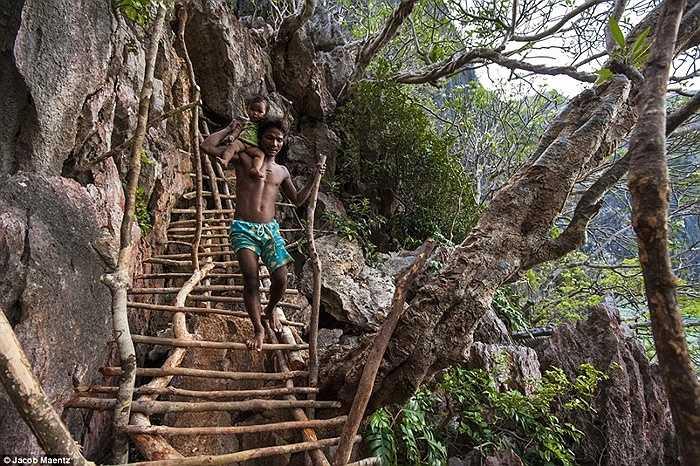 Cuộc sống của người Tagbanua vẫn khá đơn giản