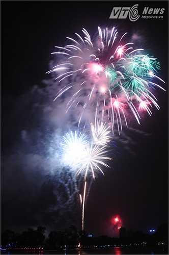 Xem thêm ảnh pháo hoa rực rỡ tại Công viên Thống Nhất