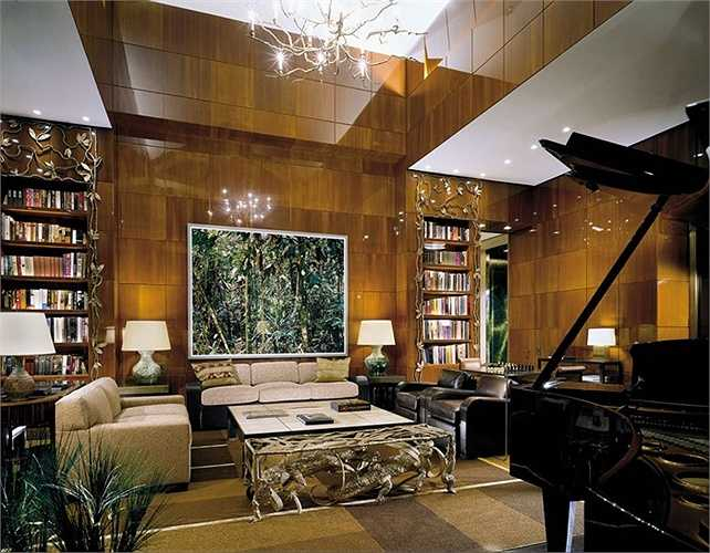 Phòng khách sạn hạng sang này nằm ờ tầng 52 của tòa nhà khách sạn Four Seasons ở Newyork
